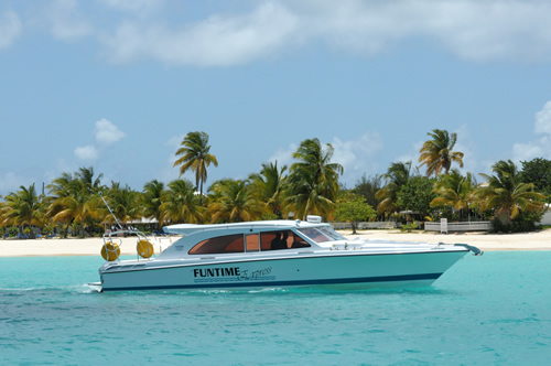 Anguilla Charter Boats Express The Funtime Charters Fleet
